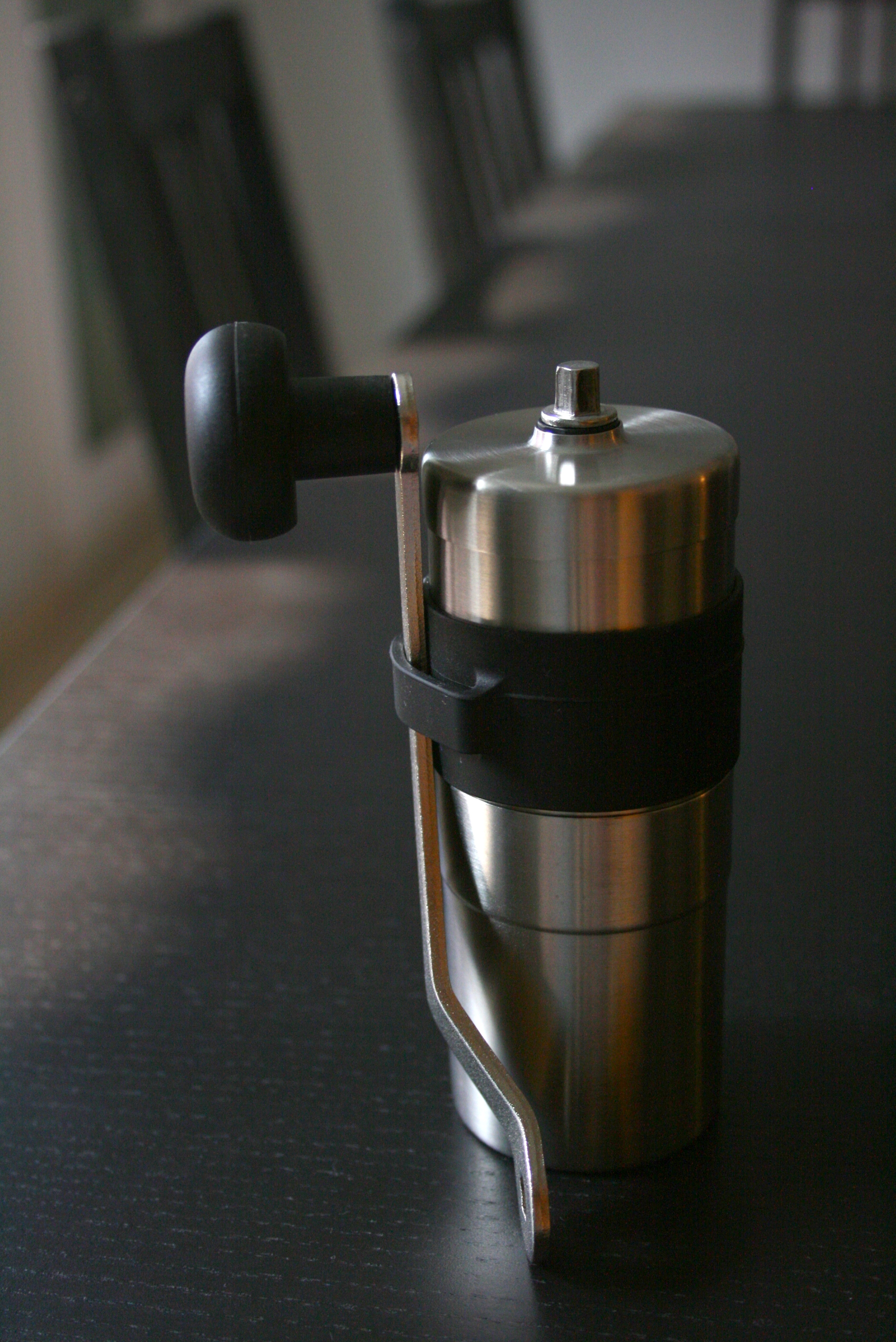 Grinding Coffee Beans With Hand Grinding