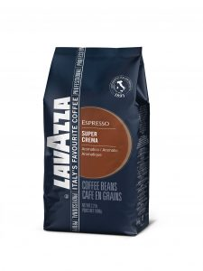 lavazza super crema espresso coffee beans