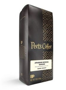 Peets Coffee Arabian Mocha Sanani espresso beans