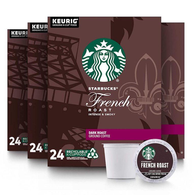 Starbucks French Roast best K Cup Coffee