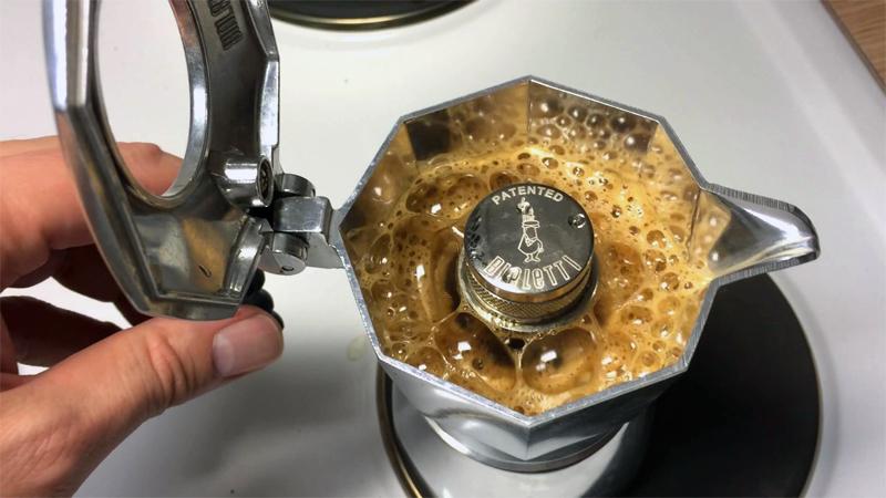 Moka Pot is alternative to make an americano coffee