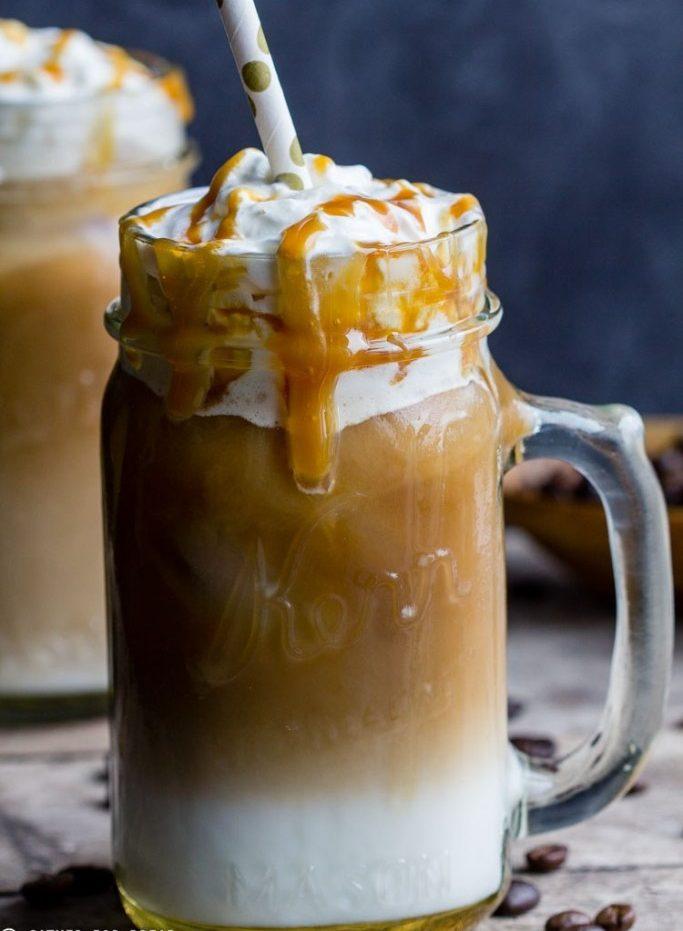 Iced Caramel Macchiato drink recipes