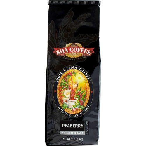 Koa coffee Peaberry Kona Coffee