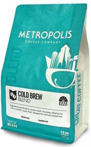 Metropolis cold brew blend