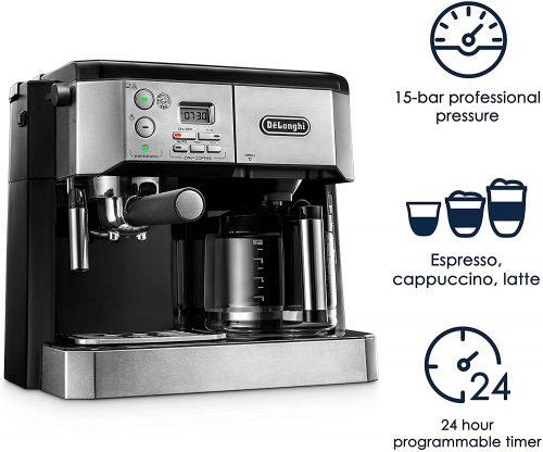 DeLonghi Dual Coffee Maker