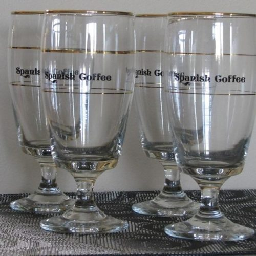 Glassware for spanish coffee