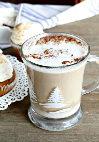 Cinnamon Spice Latte with Ninja Coffee Bar
